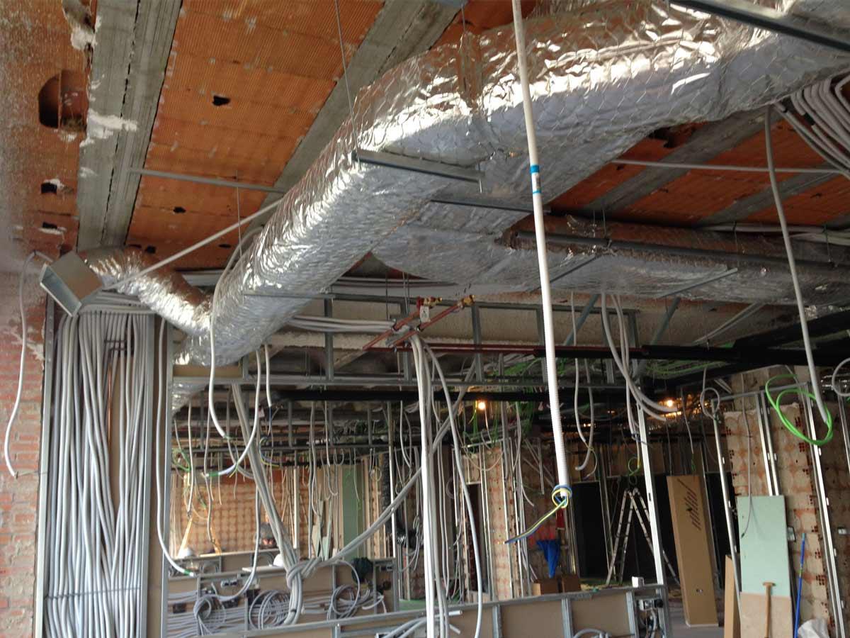 Instalaciones calefacción Hospital Principe de Asturias