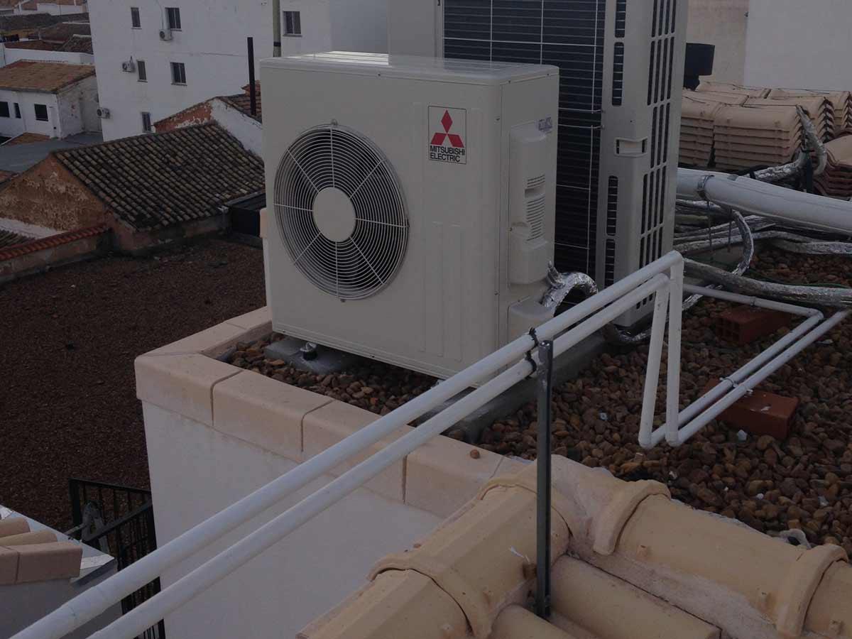 Instalaciones de climatización de farmacia
