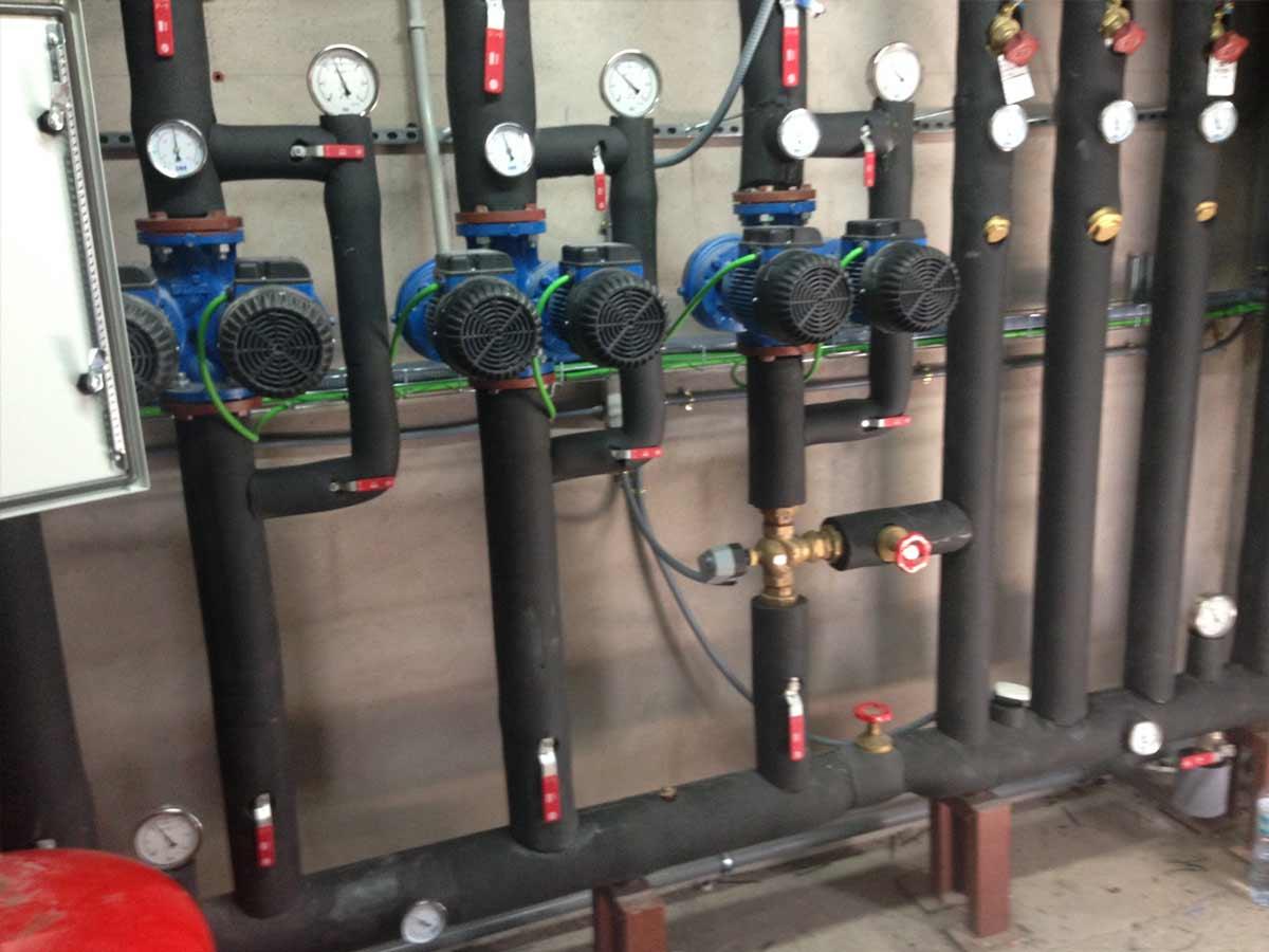 instalación calderas biomasa en spa