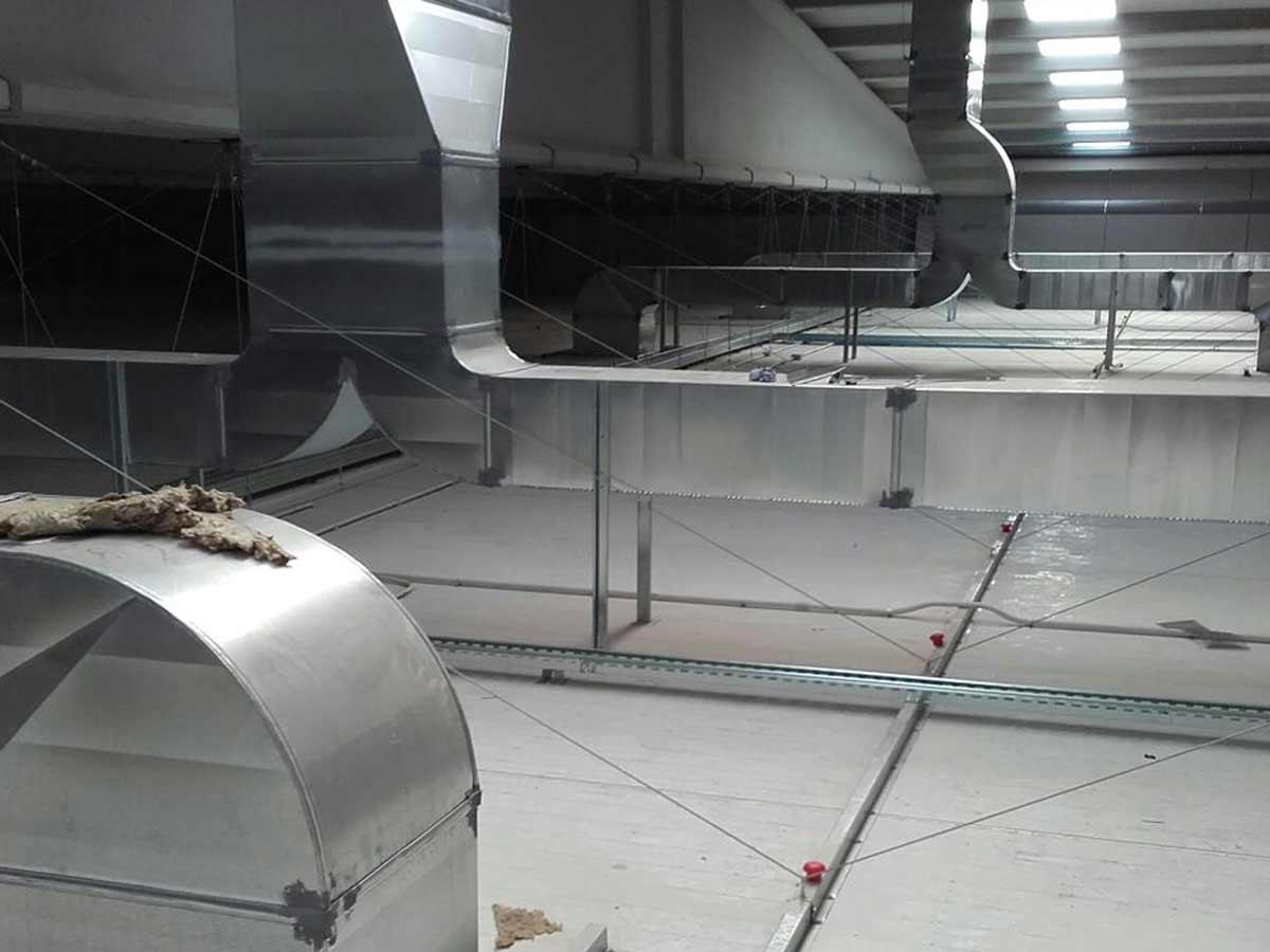 instalación caldera de gas