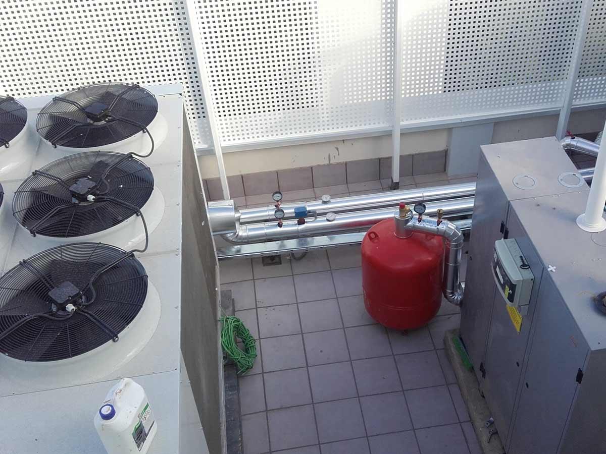 instalaciones de bombas de calor