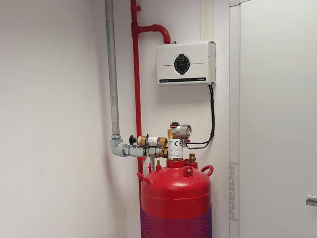 instalaciones de calefacción